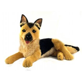 German Shepherd King Plush Toy