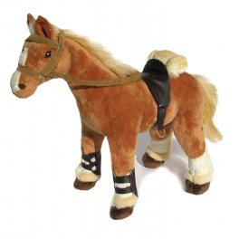 Horse Brabanter Plush Toy Sahara by Bocchetta