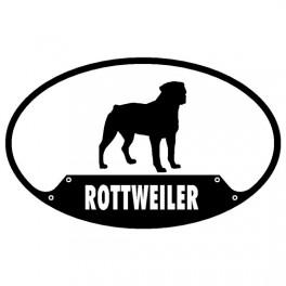 Rottweiler Euro Sticker