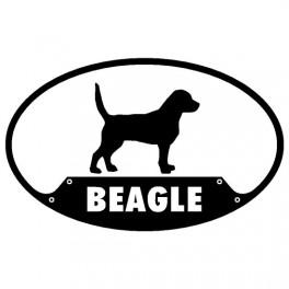 Beagle Euro Sticker
