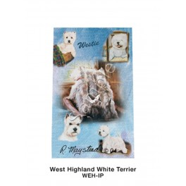 West Highland Terrier Roller Ink Pen