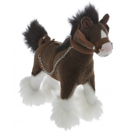 Clydesdale Horse Plush Toy Clyde by Bocchetta