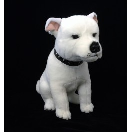 Staffordshire Bull Terrier Brewster, Bocchetta Plush Toys