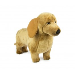 Dachshund Benson Plush Toy by Bocchetta Plush Toys