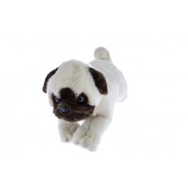 Pug Pepito Plush Toy by Bocchetta Plush Toys