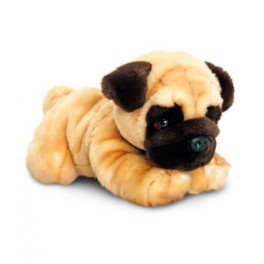 Pug Plush Stuffed Toy Reggie  by Keel Toys