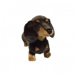 Dachshund Sausage Dog Stretch Plush Toy by Bocchetta