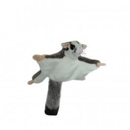 Squirrel Glider Plush Toy Frisbee by Bocchetta Plush Toys