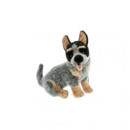 Australian Cattle Dog Harley Plush Doorstop by Bocchetta Plush Toys