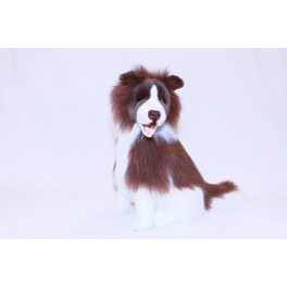 Border Collie Brandy Plush Toy by Bocchetta Plush Toys