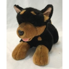 Australian Kelpie dog Gadget soft plush toy by Bocchetta Plush Toys
