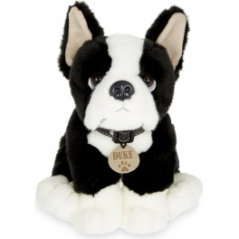 Boston Terrier Duke Plush Stuffed Toy by Keel Toys