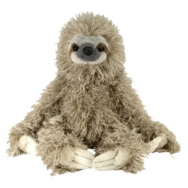 Sloth Three Toed  Plush Toy by Wild Republic