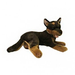Kelpie Dog Parker Plush Toy by Bocchetta Plush Toys