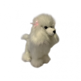 Poodle Fifi  Plush Toy by Bocchetta Plush Toys