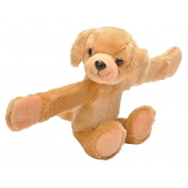 Labrador Yellow Stuffed Toy Snap Band by Wild Republic