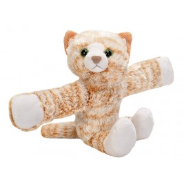 Cat Orange Tabby Plush Toy Snap Band by Wild Republic