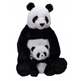 Panda Mum and Baby Jumbo Cuddlekins Extra Large Plush Toy by Wild Republic $7.95 Postage