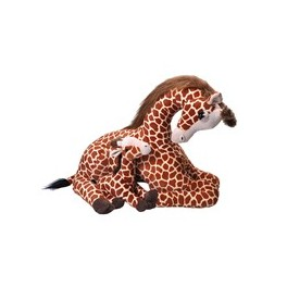 Baby Giraffe and Mum Jumbo Cuddlekins Extra Large Plush Toy by Wild Republic $7.95 Postage
