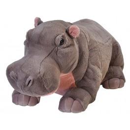 Hippo Jumbo Extra Large stuffed plush toy by Wild Republic $7.95 Postage