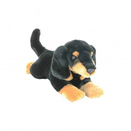 Dachshund Sausage Dog Frankie Plush Toy by Bocchetta Plush Toys