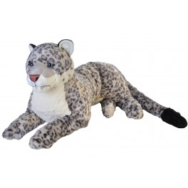 Snow Leopard Jumbo Extra Large plush toy by Wild Republic $7.95 Postage