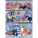 Kitchen Cats Jigsaw Puzzle