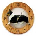 Corgi Hand Made Wooden Clock