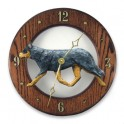 Australian Cattle Dog Hand Made Wooden Clock