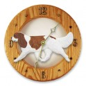 Cavalier King Charles Hand Made Wooden Clock