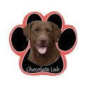 Chocolate Labrador Mouse Pad