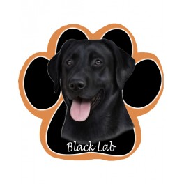 Black Labrador Mouse Pad
